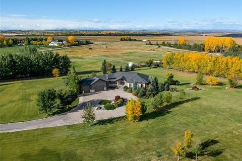 House for sale at  218112 76 Street East  Rural Foothills County Alberta - MLS: C4275558