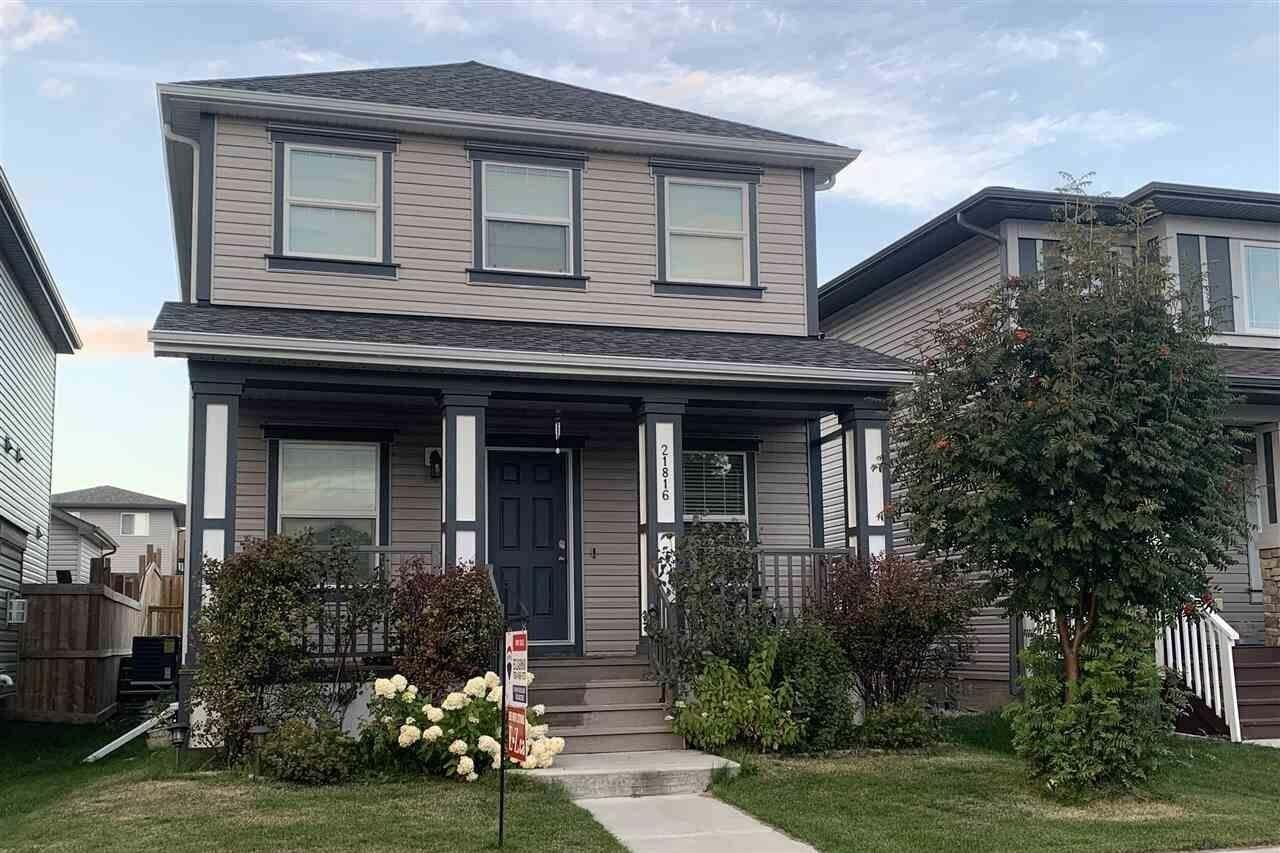 House for sale at 21816 99 Av NW Edmonton Alberta - MLS: E4210598