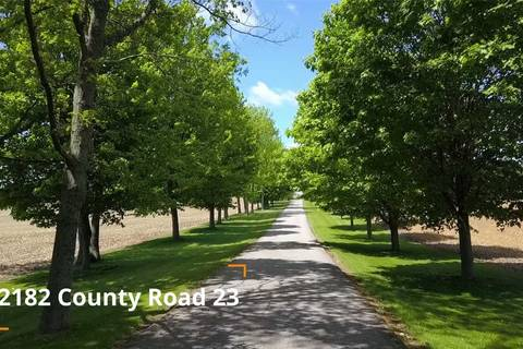 House for sale at 2182 County Road 23 Rd Alnwick/haldimand Ontario - MLS: X4427480