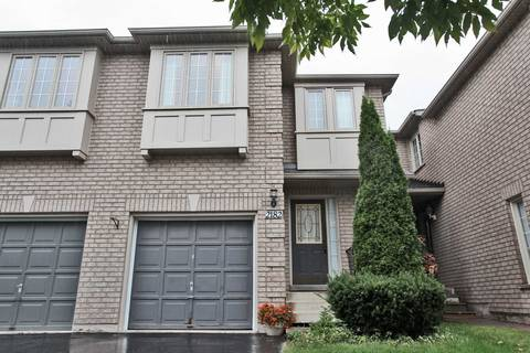 Townhouse for rent at 2182 Pell Cres Oakville Ontario - MLS: W4650995