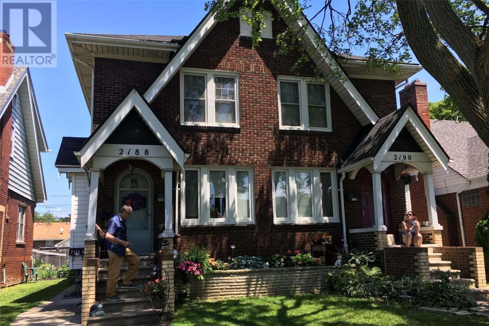 Townhouse for sale at 2188 Moy  Windsor Ontario - MLS: 20009993