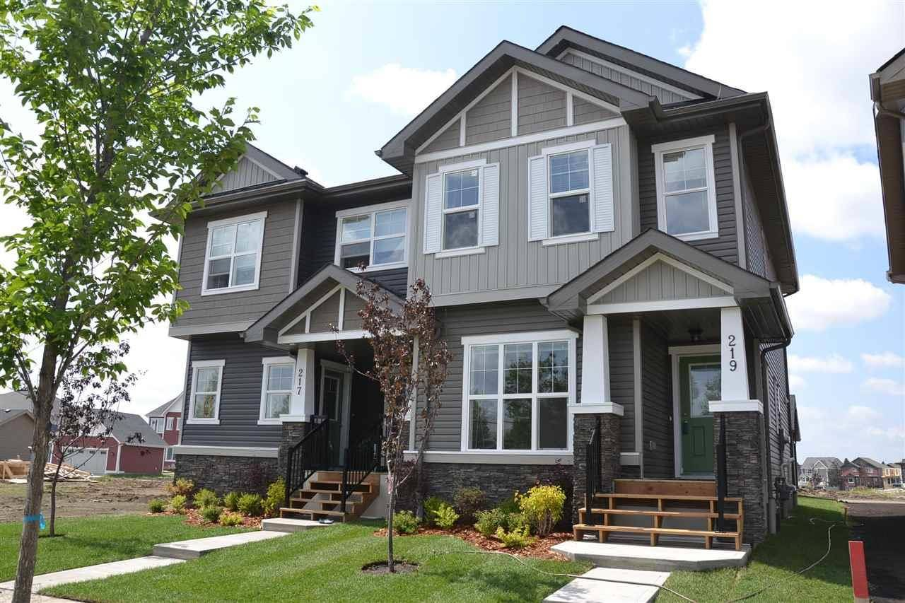 Townhouse for sale at 219 Griesbach Rd Nw Edmonton Alberta - MLS: E4142357