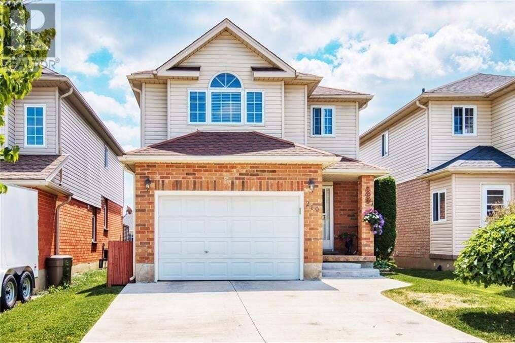House for sale at 219 Hollyridge Cres Kitchener Ontario - MLS: 30824512