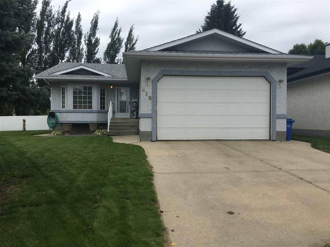 House for sale at 219 Norwood Ct Wetaskiwin Alberta - MLS: E4171952