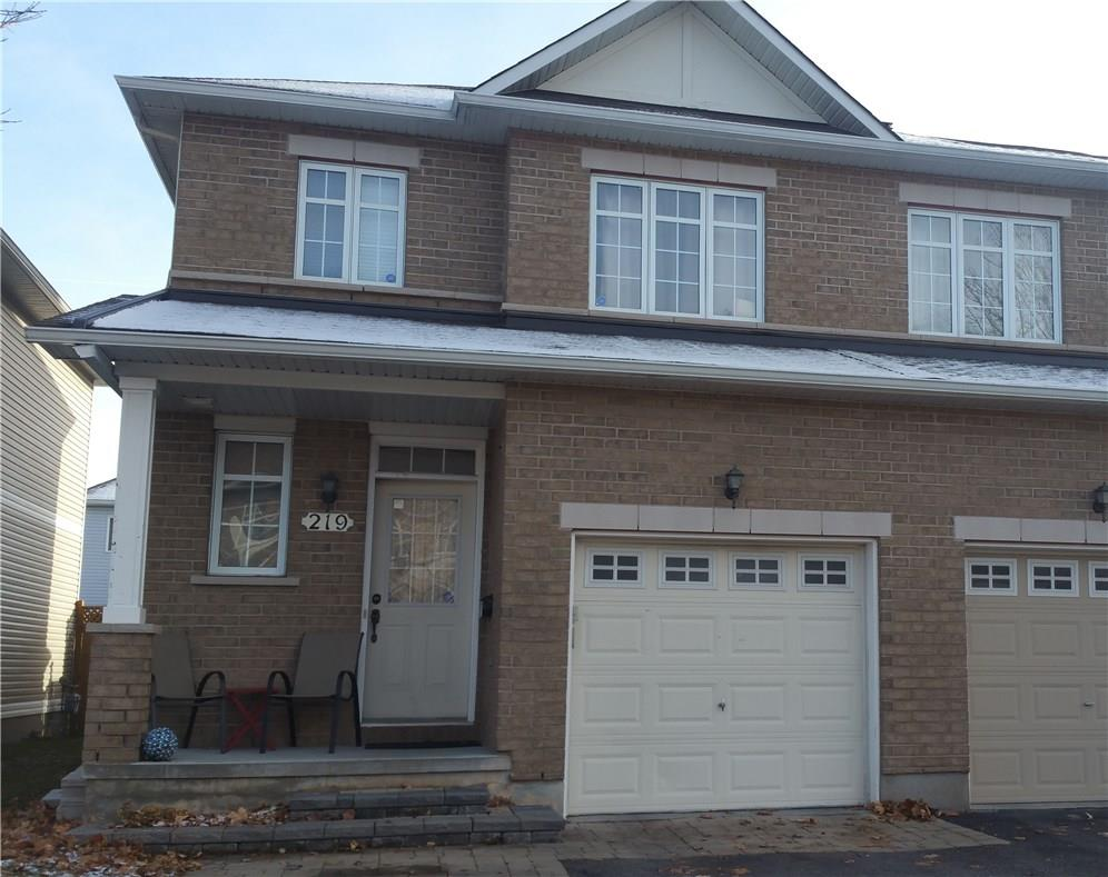 For Sale: 219 Portrush Avenue, Ottawa, ON | 3 Bed, 3 Bath Townhouse for $375,500. See 25 photos!