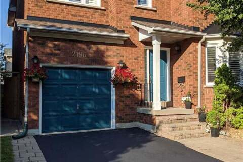 House for sale at 2196 Oak Bliss Cres Oakville Ontario - MLS: W4862310