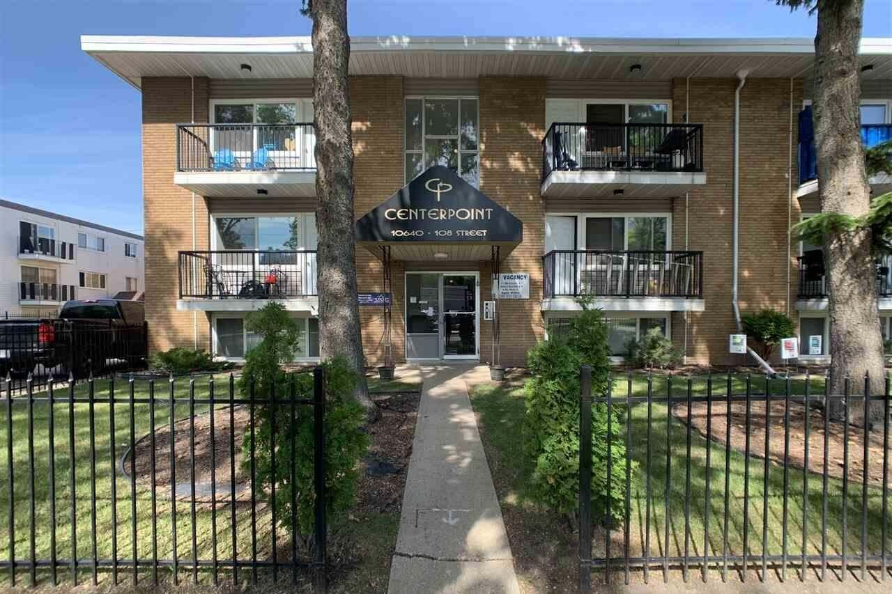 Condo for sale at 10640 108 St NW Unit 22 Edmonton Alberta - MLS: E4204257