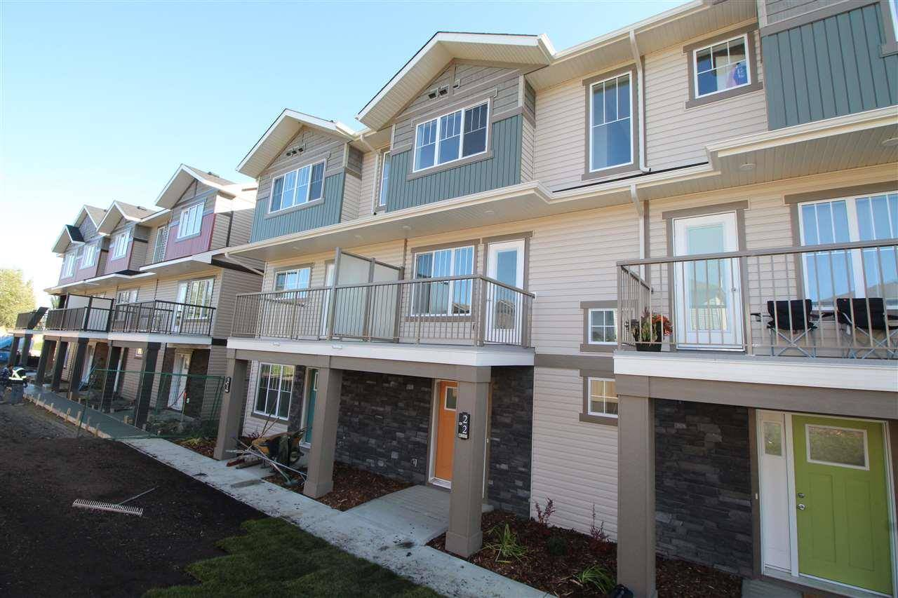 Townhouse for sale at 12815 Cumberland Rd Nw Unit 22 Edmonton Alberta - MLS: E4175944