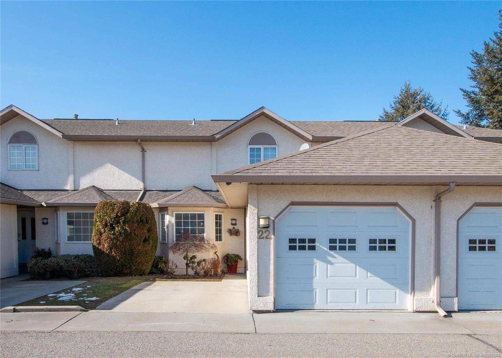 Townhouse for sale at 140 Nickel Rd Unit 22 Kelowna British Columbia - MLS: 10200214