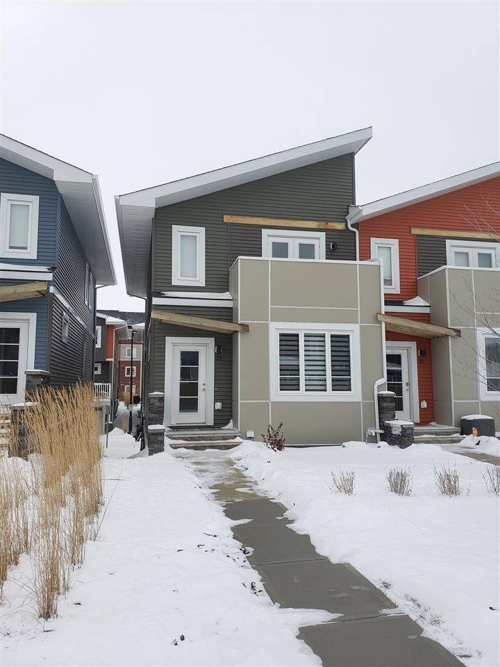 Townhouse for sale at 1480 Watt Dr Sw Unit 22 Edmonton Alberta - MLS: E4178831