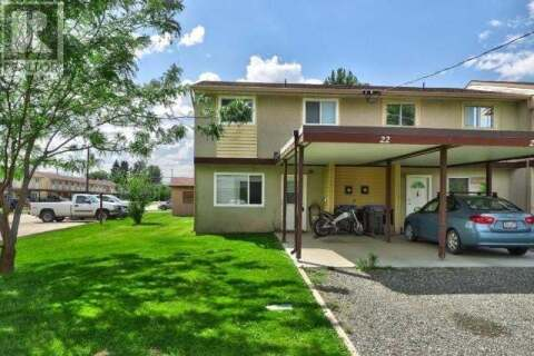 Townhouse for sale at 1697 Greenfield Ave  Unit 22 Kamloops British Columbia - MLS: 157391