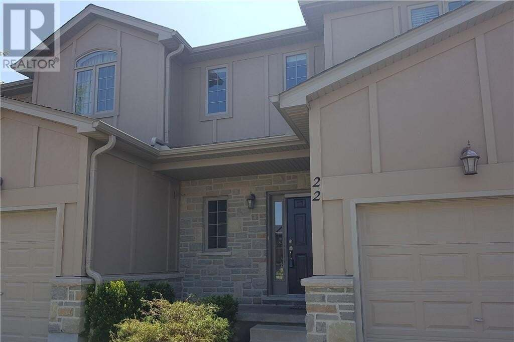 Townhouse for rent at 2089 Beavderbrook Ave Unit 22 London Ontario - MLS: 261157