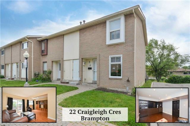 Sold: 22 Craigleigh Crescent, Brampton, ON