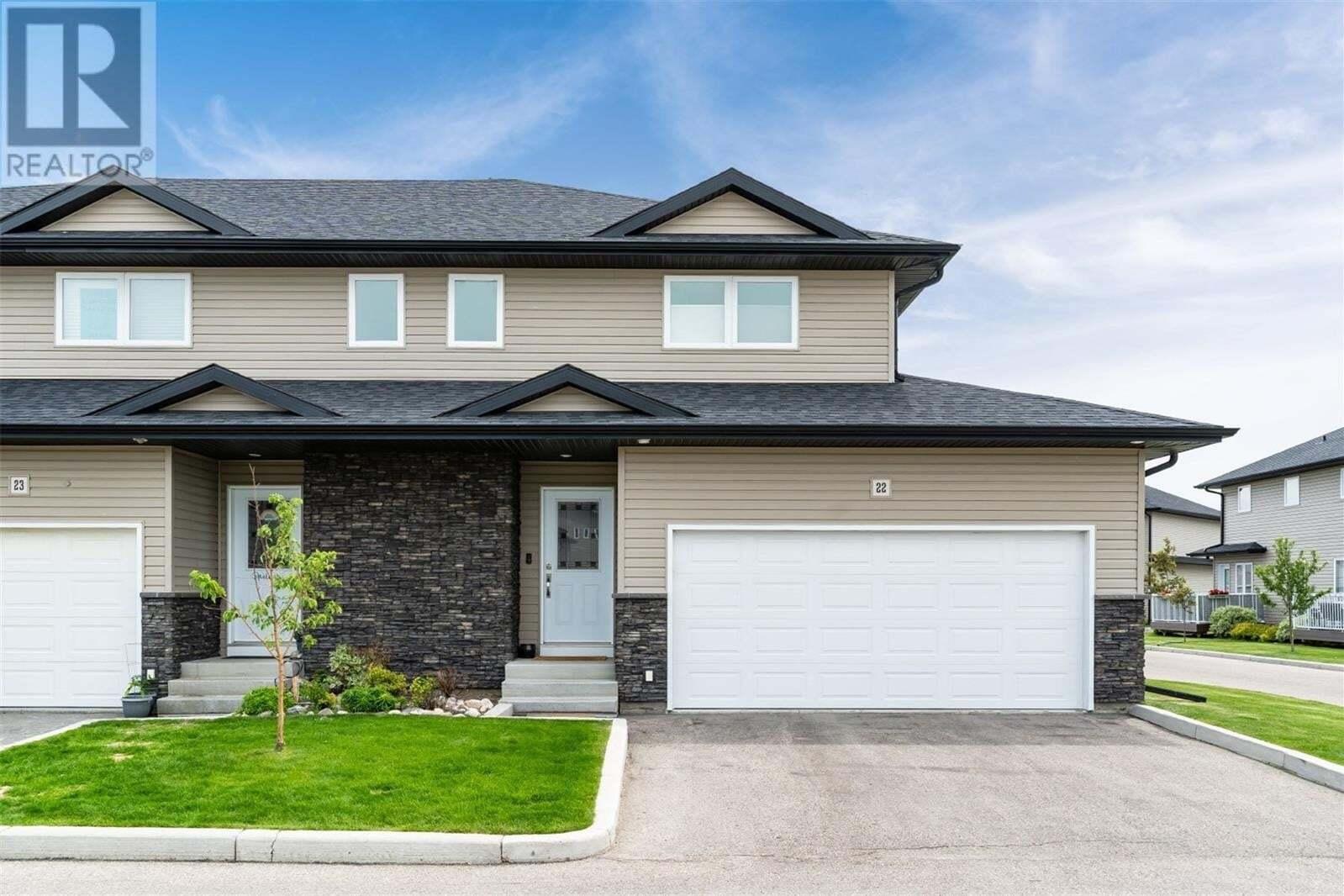 Townhouse for sale at 365 Dawson Cres Unit 22 Saskatoon Saskatchewan - MLS: SK814139