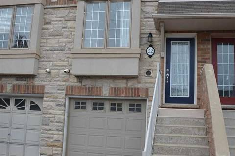 Townhouse for rent at 435 English Rose Ln Unit 22 Oakville Ontario - MLS: W4685625