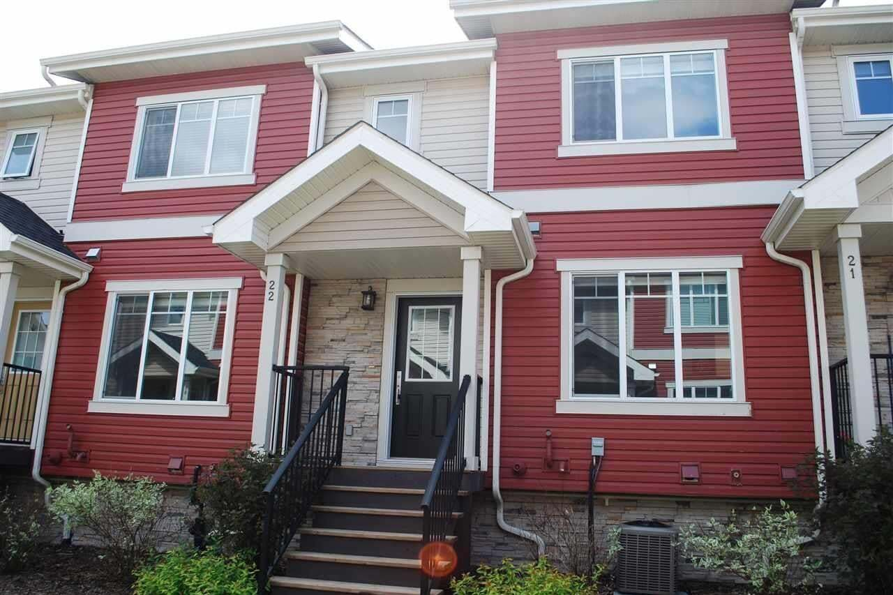 Townhouse for sale at 5134 Mullen Rd NW Unit 22 Edmonton Alberta - MLS: E4202348