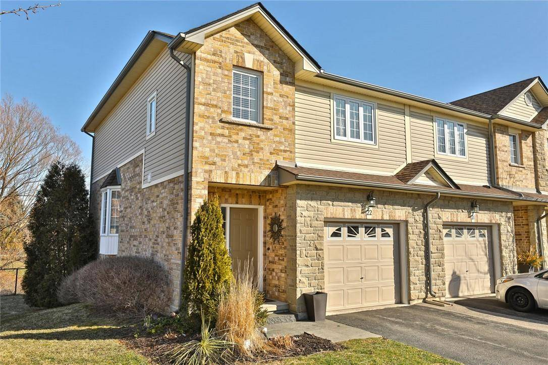 Townhouse for sale at 60 Cloverleaf Dr Unit 22 Ancaster Ontario - MLS: H4075264