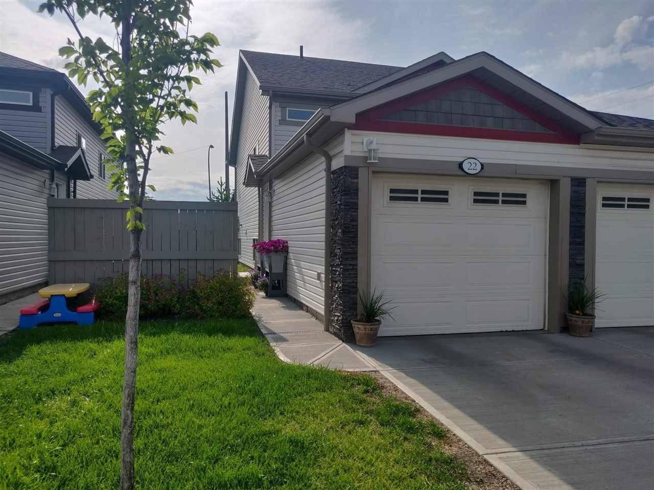 Townhouse for sale at 6520 2 Ave Sw Unit 22 Edmonton Alberta - MLS: E4159278