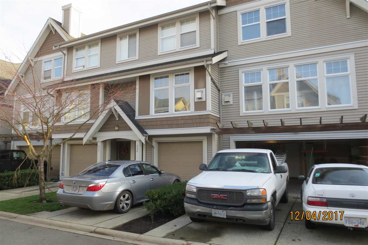 For Sale: 22 - 6588 188 Street, Surrey, BC | 3 Bed, 3 Bath Townhouse for $529,900. See 5 photos!