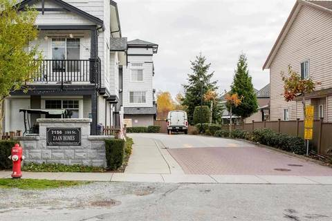 Townhouse for sale at 7156 144 St Unit 22 Surrey British Columbia - MLS: R2333535