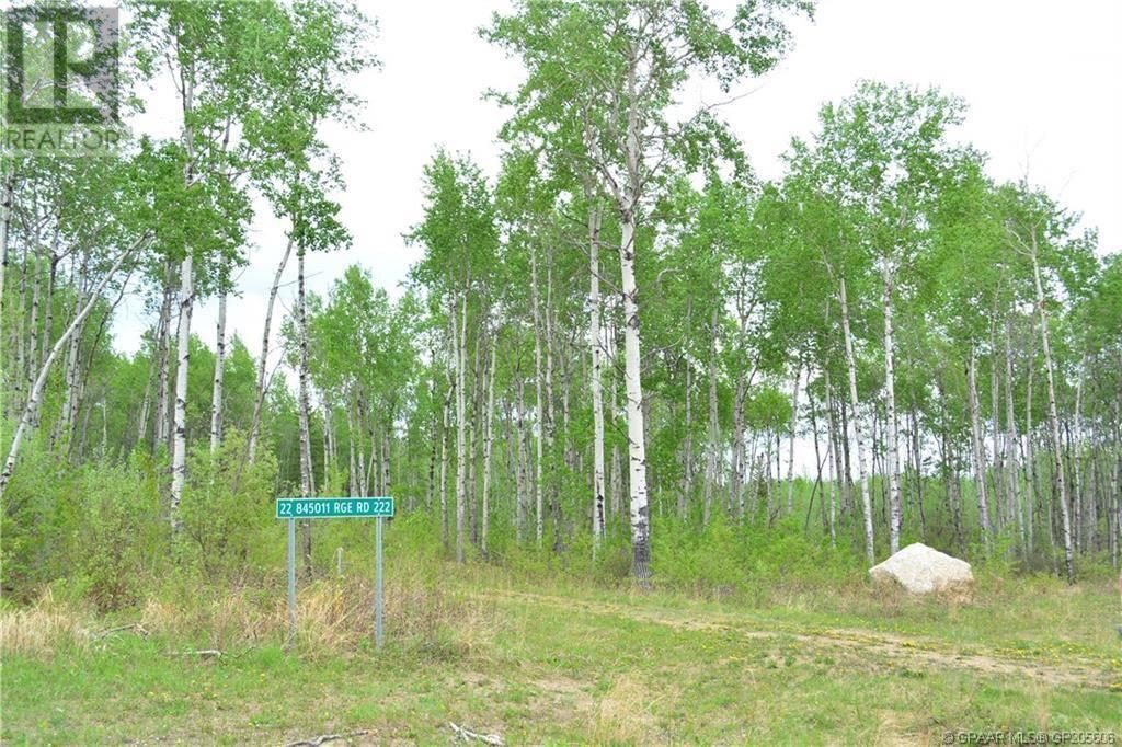 Home for sale at 22 845011 Range Road 222  Northern Lights, Countyof Alberta - MLS: GP205606