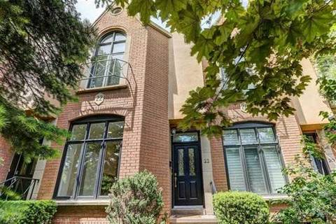 Townhouse for rent at 22 Alex Me Toronto Ontario - MLS: C4438650