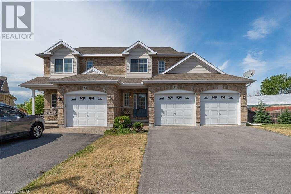 Townhouse for sale at 22 Ava Ct Belleville Ontario - MLS: 269035