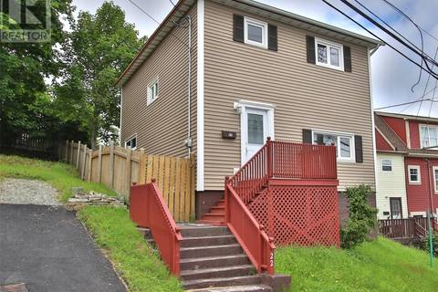 House for sale at 22 Barters Hill Pl St. John's Newfoundland - MLS: 1199483