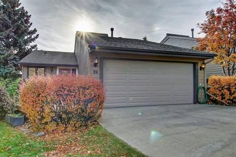 Townhouse for sale at 22 Coach Manor Te Southwest Calgary Alberta - MLS: C4273543