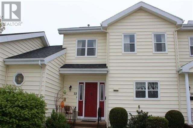 Townhouse for sale at 22 Connaught Ave Middleton Nova Scotia - MLS: 202021901