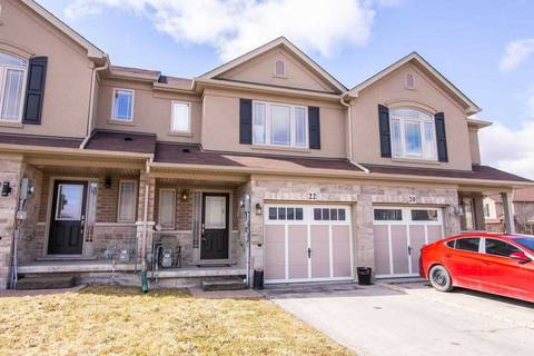 Townhouse for sale at 22 Dulgaren St Hamilton Ontario - MLS: X4419999