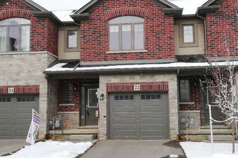 Townhouse for sale at 22 Farley Ln Hamilton Ontario - MLS: X4350294