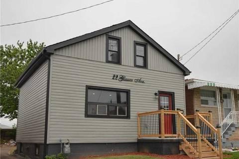 House for sale at 22 Glassco Ave Hamilton Ontario - MLS: X4615734