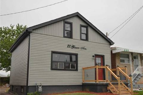 House for sale at 22 Glassco Ave Hamilton Ontario - MLS: X4702687