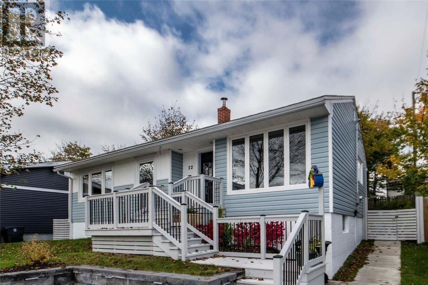 House for sale at 22 Gleneyre St St. John's Newfoundland - MLS: 1222608