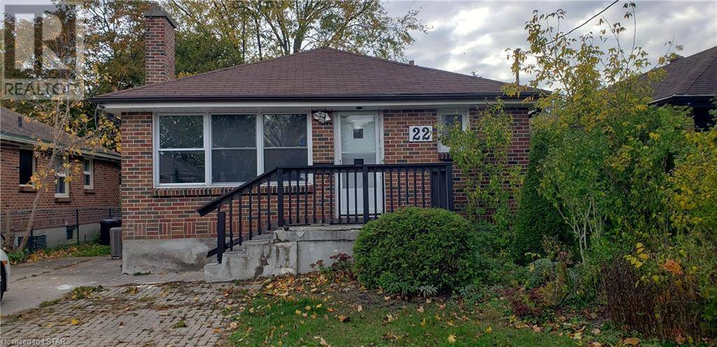 House for sale at 22 Gower St London Ontario - MLS: 229445