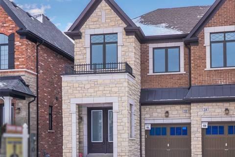 Townhouse for sale at 22 Great Heron Ct King Ontario - MLS: N4385859