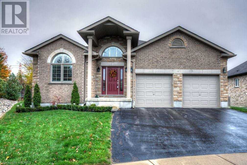 House for sale at 22 Green Gable Pl Woodstock Ontario - MLS: 40038098