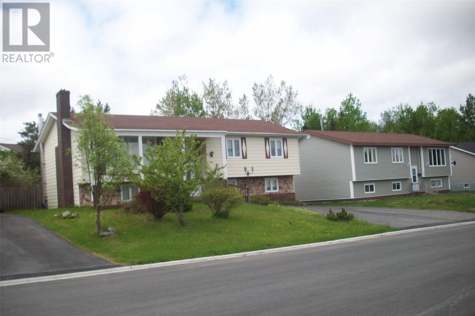 House for sale at 22 Griffin Pl Gander Newfoundland - MLS: 1217152