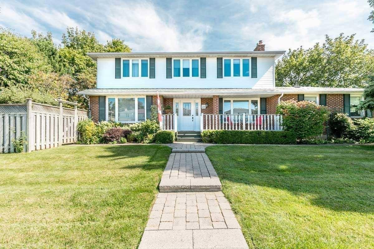 House for sale at 22 Hemingway Cres Markham Ontario - MLS: N4612656
