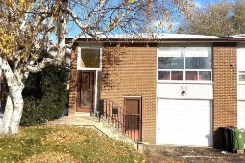 Townhouse for sale at 22 Hildenboro Sq Toronto Ontario - MLS: E4629399