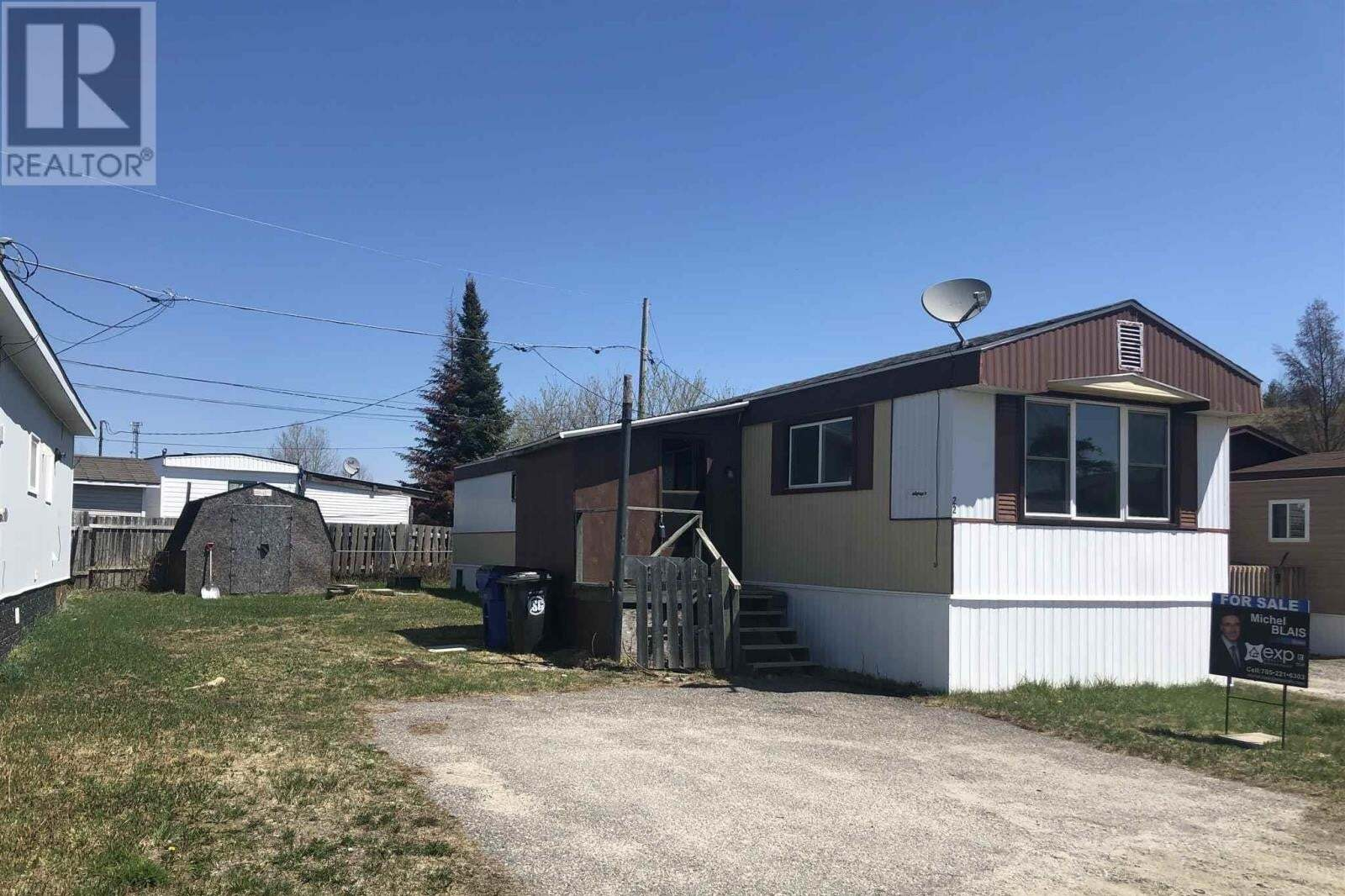 House for sale at 22 Jay Ave Timmins Ontario - MLS: TM200442