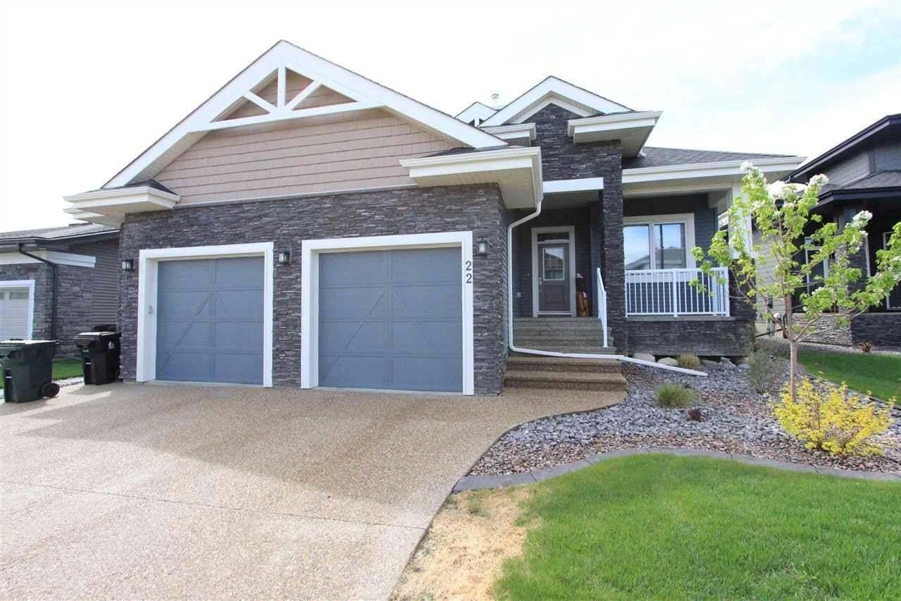 House for sale at 22 Kenton Woods Ln Spruce Grove Alberta - MLS: E4184173