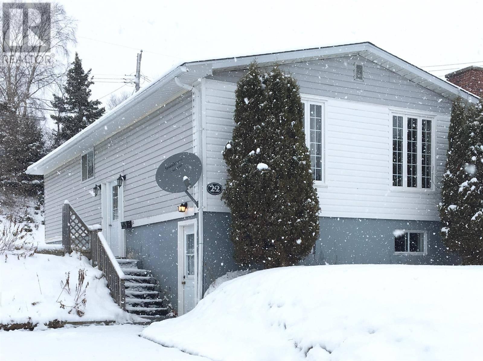 House for sale at 22 Lomond St Corner Brook Newfoundland - MLS: 1208833