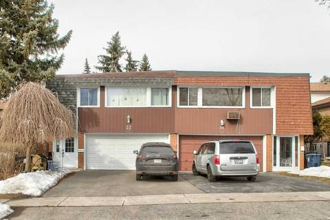 Townhouse for sale at 22 Lynch Rd Toronto Ontario - MLS: C4710919