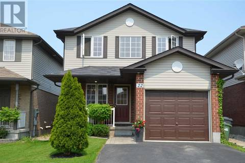 House for sale at 22 Maude Ln Guelph Ontario - MLS: X4476647