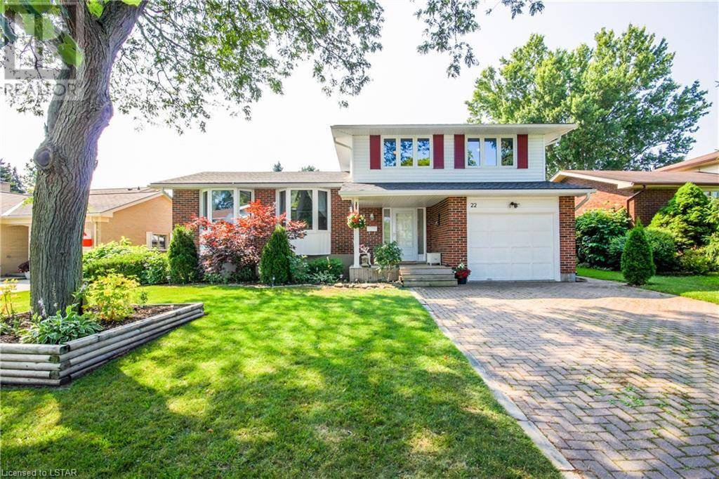 House for sale at 22 Milford Cres London Ontario - MLS: 212188