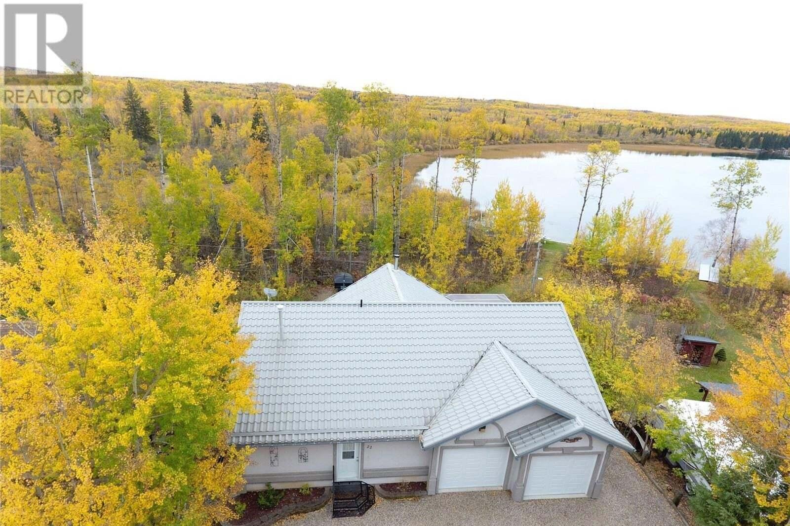 House for sale at 22 Oskunamoo Dr Greenwater Provincial Park Saskatchewan - MLS: SK828119