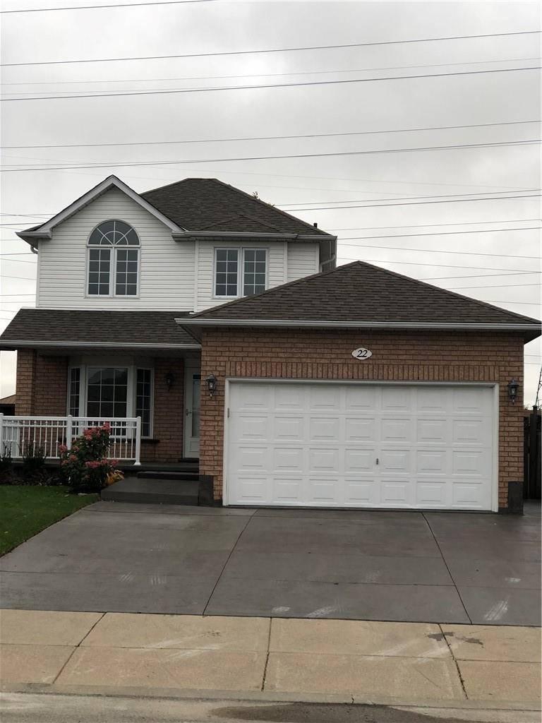 House for rent at 22 Polaris Ct Hamilton Ontario - MLS: H4066500