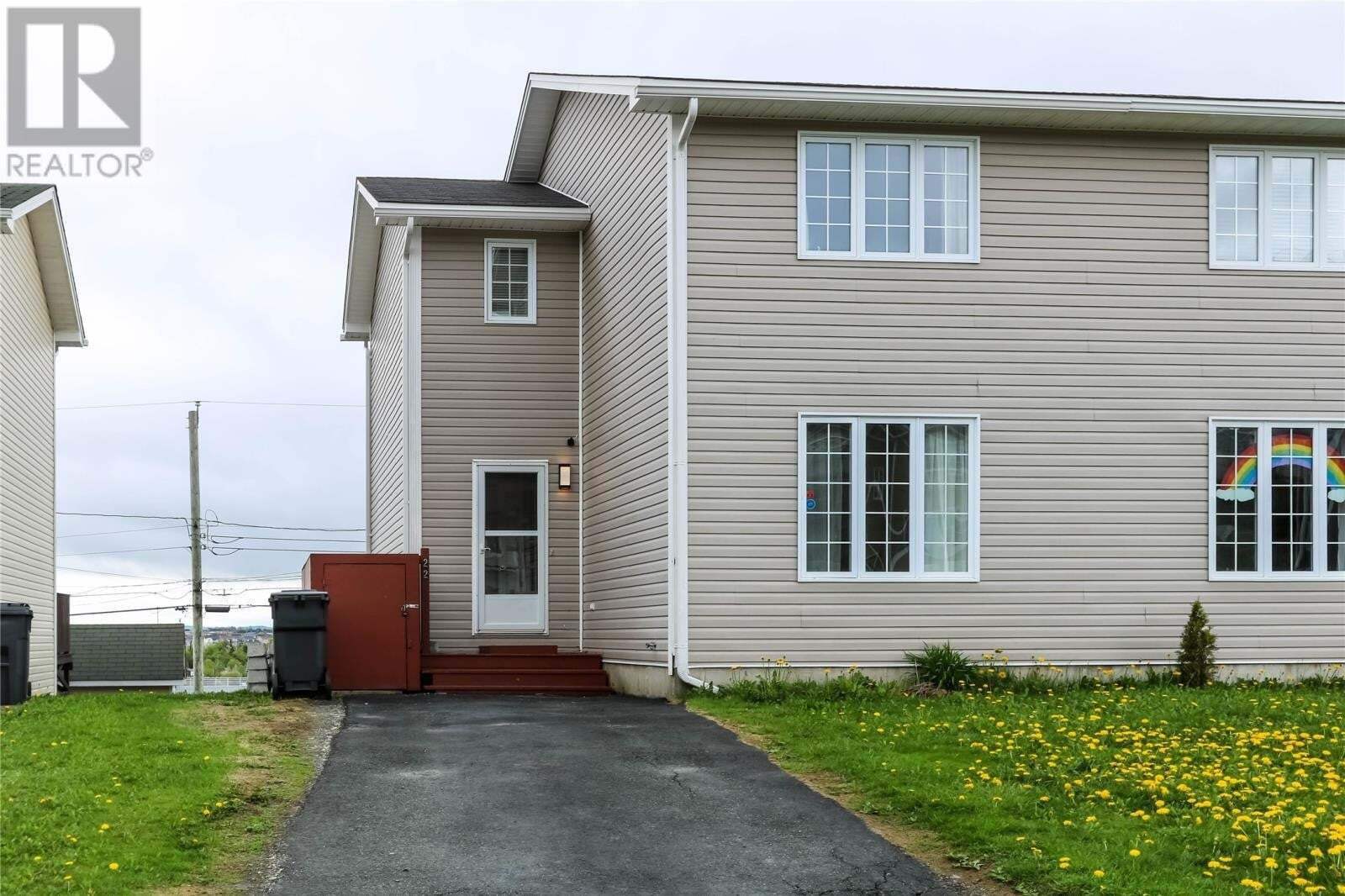 House for sale at 22 Seabright Pl Mount Pearl Newfoundland - MLS: 1213698